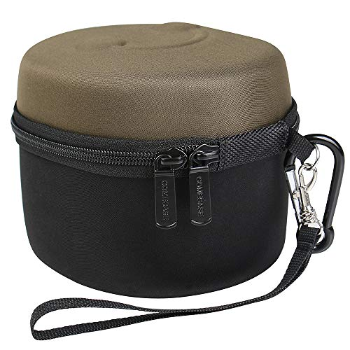 Earmuff Case for Howard Leight by Honeywell Impact Sport Sound Amplification/Walker's Game Ear Razor Slim/awesafe Electronic Shooting Earmuff with Accessories Mesh Pocket (Box Only)