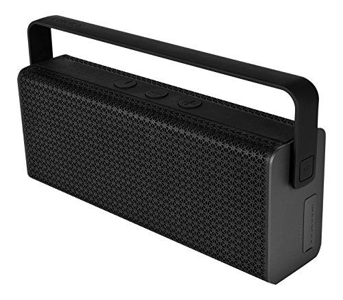 EDIFIER RAVE (MP700) - mobiler tragbarer Bluetooth 4.0 Lautsprecher mit aptX, NFC & USB Ladefunktion (Powerbank) für Handy und Co., schwarz