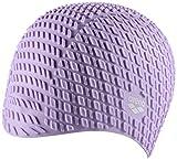 ARENA Silicone Cap Gorro de natación Bonnet Retro Look, Adultos Unisex, Light Violet, TU