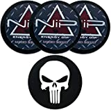 Nip Energy Dip Mixed Berry 3 Cans with DC Crafts Nation Skin Can Cover - Punisher