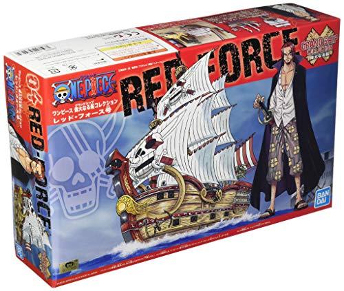 BANDAI - Maqueta de una pieza - Red Force Grand Ship Collection 15cm - 4573102574282