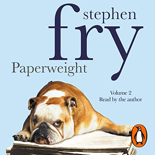 Paperweight, Volume 2                   Written by:                                                                                                                                 Stephen Fry                               Narrated by:                                                                                                                                 Stephen Fry                      Length: 3 hrs and 2 mins     Not rated yet     Overall 0.0