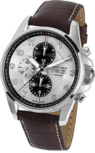 JACQUES LEMANS Orologio Cronografo Uomo 1-1750B