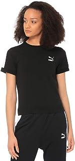 Puma Classics Tight T7 Fitness Sport Top for Women, Size XS Black
