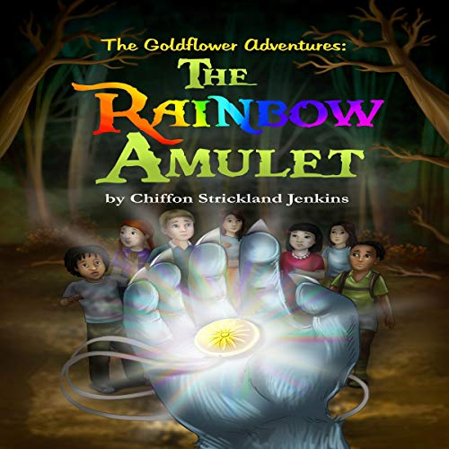 The Rainbow Amulet audiobook cover art
