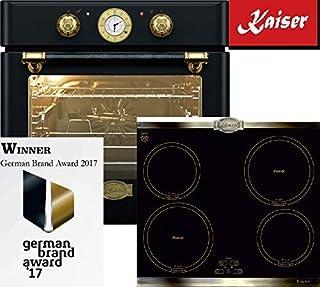 Autarkes KCT6395 IEm - Horno eléctrico para inducción, 60 cm, esmaltado, color negro