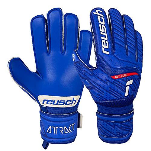 Reusch Attrakt Silver Junior, deep Blue / deep Blue, 4.5