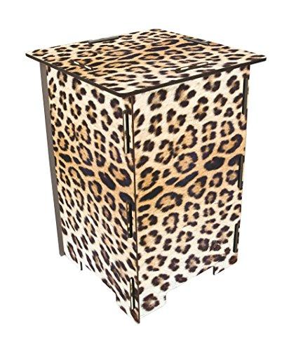 Photo-Hocker Leopard