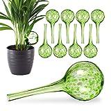 Relaxdays 10 x Bewässerungskugel im Set, dosierte Bewässerung Pflanzen u. Blumen, Gießhilfe...