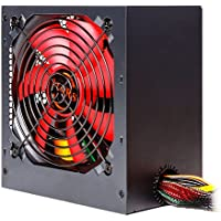 Mars Gaming MPII650, Fuente De Alimentación Para Ordenador, SATA, 650W, Rojo