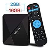 Android TV Box, DOLAMEE D5 Quad-core 2GB RAM 16GB ROM Smart 4K TV Box with Bluetooth 4.0 HDMI2.0 2.4G WiFi Media Player
