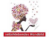 XXL-Tapeten selbstklebendes Wandbild Flower Girl – leicht