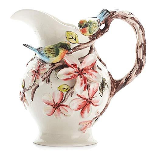 Vaas Centerpieces Grote Vaas Keramische Decoratieve Kruik Moderne Mode Bloem Grote Vaas Bloemen Hydroponische Bloemen En Vogels vaas keramische HUYP