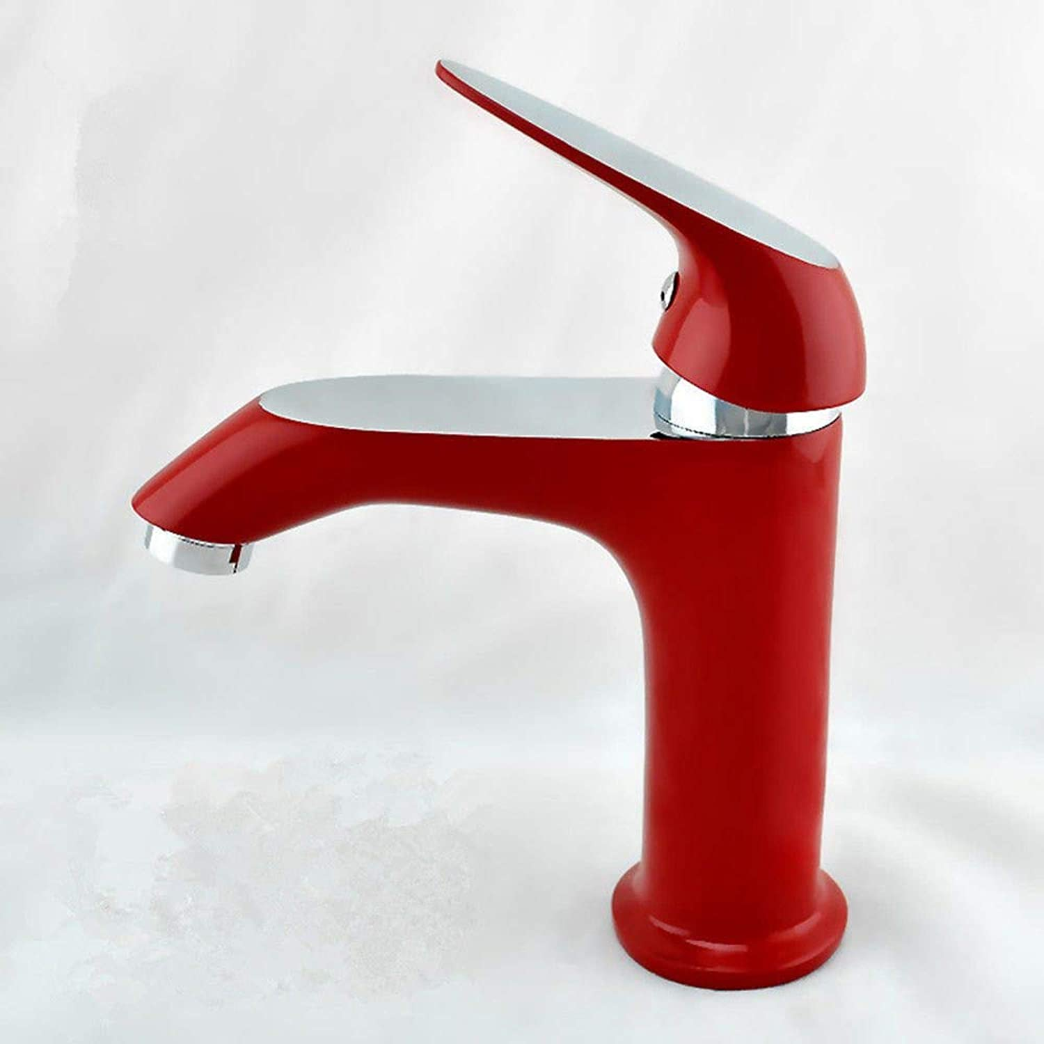 Faucetbathroom Sink Faucet Vanity Faucet Retro Brushed Hot & Cold Water Sink Mixer Tap for Lavatory Vanity Sink Faucet