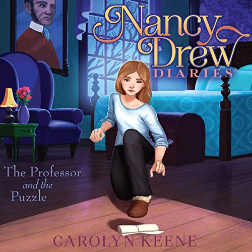 The Professor and the Puzzle audiobook cover art