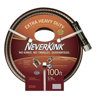 Teknor Apex NeverKink 8642-100, Extra Heavy Duty Garden Hose,  5/8-Inch by 100-Feet