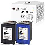 LEMERO UEXPECT 27 28 Patronen Ersatz für HP 27 28 HP27 HP28 für Deskjet 3320 3325 3420 3520V 3550...