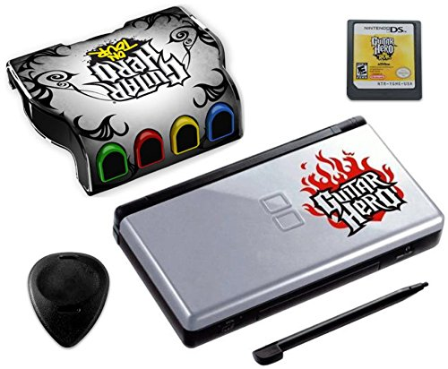 Nintendo DS Lite Guitar Hero: On Tour Bundle - Black/Silver