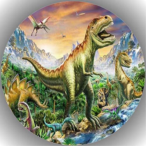 Fondant Tortenaufleger Tortenbild Dinosaurier AMA N1