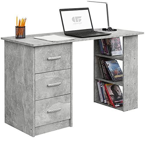 COMIFORT Schreibtisch Arbeitstisch - Computertisch Robuster und Geräumiger Schreibtisch...