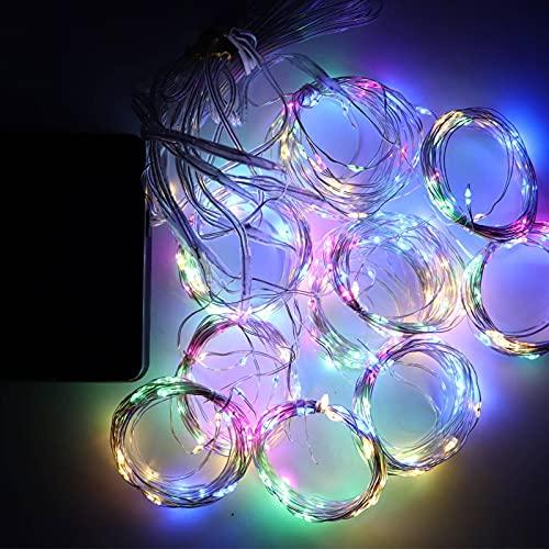 N\C 3 x 3 m, luz solar para cortina de jardín, 300 LED, 8 modos, control remoto, impermeable, cascada, luz de hadas para terraza, jardín, fiesta, boda, cumpleaños, vacaciones (cálida)