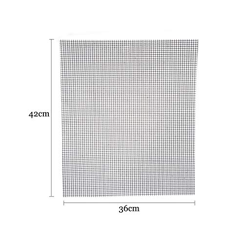 %65 OFF! BBQ Tools Nonstick Glass Fiber BBQ Grill Mat Barbecue Grilling Pad Grill Topper Mesh Net Ou...