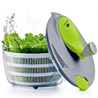 kilokelvin plastica centrifuga per insalata 4 litri asciugatrice rapida per verdure-bpa gratuito