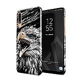BURGA Hülle Kompatibel mit Samsung Galaxy A50 - Handy Huelle Vogel Wild Adler Eagle Savage Dünn Robuste Rückschale aus Kunststoff Handyhülle Schutz Hülle Cover