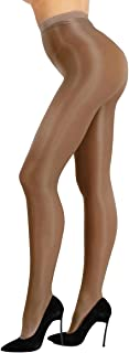 MSemis Women's Ultra Shine Oil Socks 70D Thickness Dance Tights Pantyhose Stockings