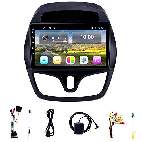 Tlyd Pantalla de navegación de automóviles con interconexión de teléfonos móviles Bluetooth Soporte Manos Libres 1080p Conexión WiFi Adecuada para 15-18 Chevrolet Spark (2 + 32g)