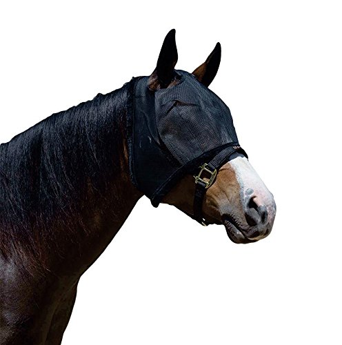 Weaver Fly Mask Without Ears - Size:Large Color:Black