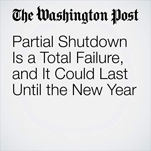 『Partial Shutdown Is a Total Failure, and It Could Last Until the New Year』のカバーアート