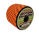 CORDAMARKET 10mm Cuerda driza, Adultos Unisex, Naranja Fluor, 25mts