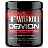 Pre Workout Demon (Sabor Frutas del Bosque) - Suplemento Potente pre-Entreno con...