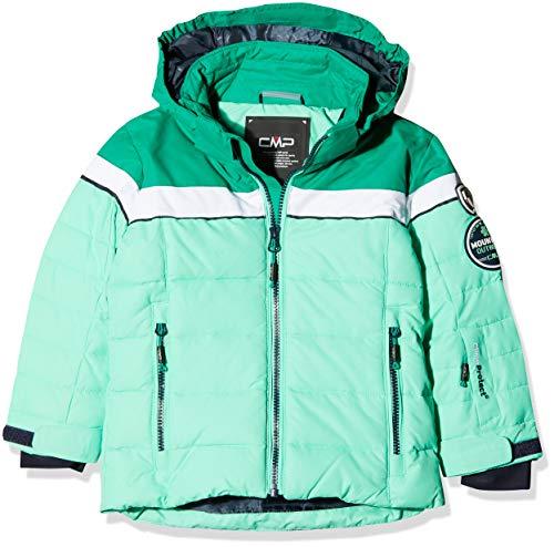 CMP Mädchen Wattierte 3000 Ripstop Skijacke Jacke, Ice Mint, 128