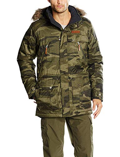 Columbia Mens Barlow Pass 550 TurboDown Jacket, Graphite, L