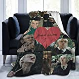 xianrenzhang Draco-Malfoy Fleece Throw Blanket.Super Soft Plush Blanket for Winter Bedding Bed Couch Sofa 50x40 in