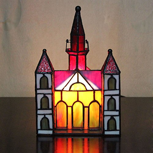 Gweat Lampe de table Little House Villa Lampe de chevet pour enfant