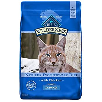 Blue Buffalo Wilderness High Protein Natural Adult Indoor Dry Cat Food Chicken 11-lb