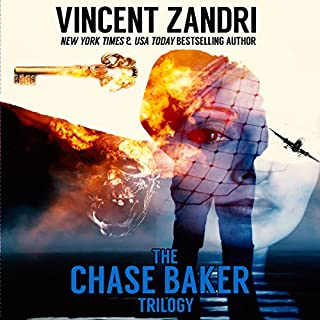 The Chase Baker Trilogy audiobook cover art