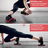 Immagine 2 amonax fitness sliders double sided