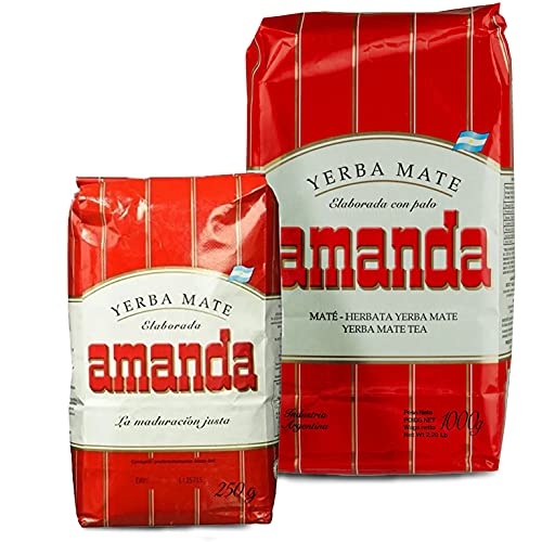 Juego de té Yerba Mate Amanda Tradicional 1 kg + Amanda Tradicional...