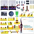 Teenii STEM Physics Science Lab Basic Circuit Learning Starter Kit Electricity and Magnetism Experiment for Kids Junior Senior High School Students Electromagnetism Elementary Electronics LERBOR by Teenii