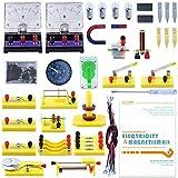 Teenii CTIM Laboratorio de Física Kit de Aprendizaje Básico de Circuitos Experimento de Electricidad y Magnetismo para niños Alumnos de...