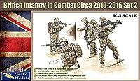 ゲッコーモデル 1/35 現用イギリス陸軍 歩兵 戦闘中 2010年~2016年頃 セット2 4体セット プラモデル GEC35GM0016