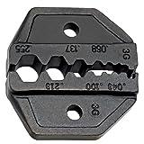 Klein Tools VDV201-040 Crimp Die Set for Use with VDV200-010 Ratcheting Crimper Frame for RG58/RG59, RG62, RG174, and Fiber Optic Cable