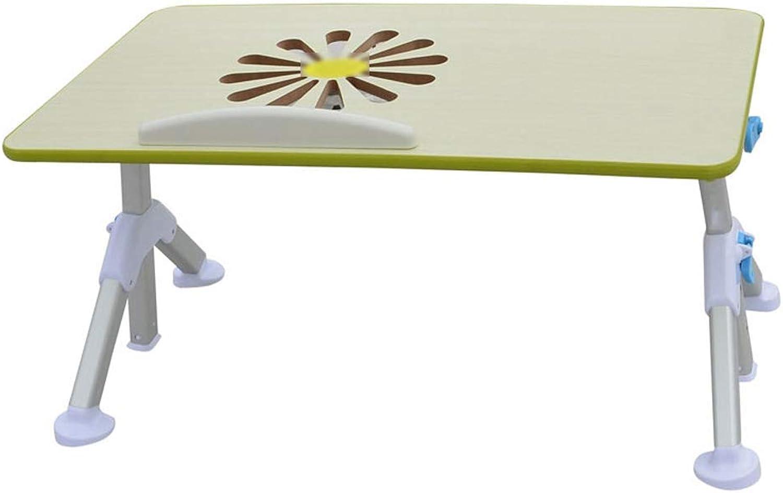 increíbles descuentos XHCP XHCP XHCP Mesa Plegable Cama del Dormitorio Computadora Escritorio Cama Ventilador para Levantar la Mesa Perezosa (Color  verde)  salida para la venta