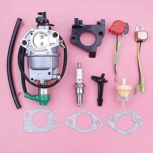 LSB-SHOWER Repuestos para Herramientas eléctricas Kit de Herramientas de Repuesto para reparación de carburador Compatible con generador Predator 420Cc 8750W 7000W 6500W 5000W 188F