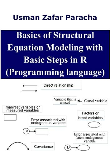 Basics of Structural Equation Modeling with Basic Steps in R Front Cover
