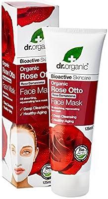 DR ORGANIC Rose Face Mask, 125 ml by DR ORGANIC LTD